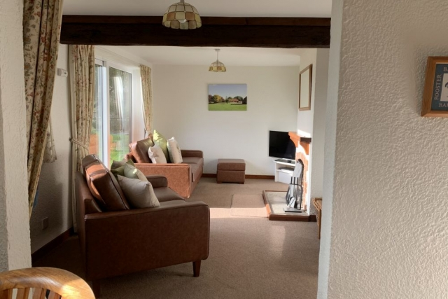 Picture of comfortable sofas in Leat Cottage, Pickering