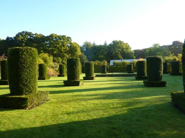 Award winning Walled Garden designed by Piet Oudolf at Scampston