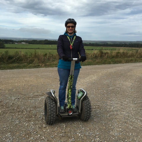 Dalby the Great Yorkshire Forest offers Segway adventures
