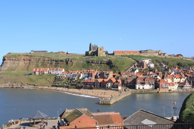 Historic Whitby, with harbour, beaches and the famous Whitby Abbey