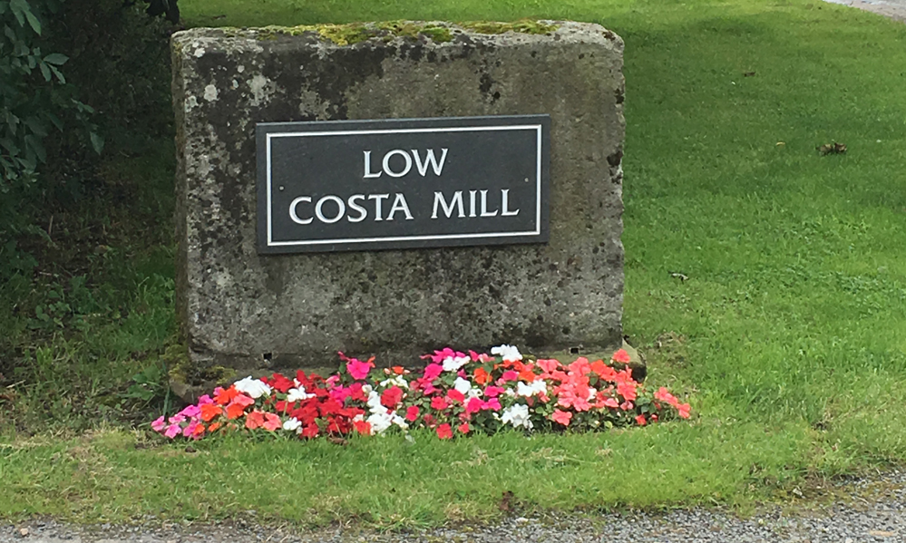 Warm Welcome at Low Costa Mill