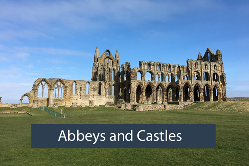 Abbeys and Castles - Local area Low Costa Mill self catering cottages Pickering