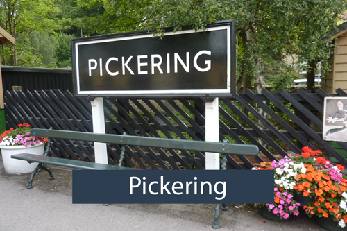 Pickering - Local area Low Costa Mill self catering cottages Pickering